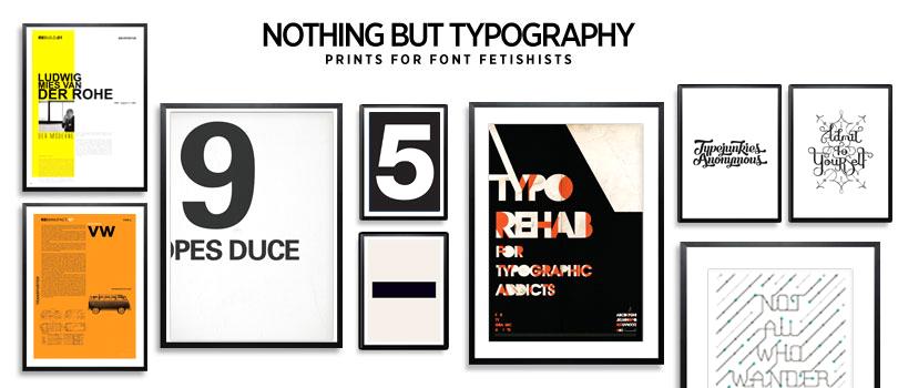 Lifestyle Typography